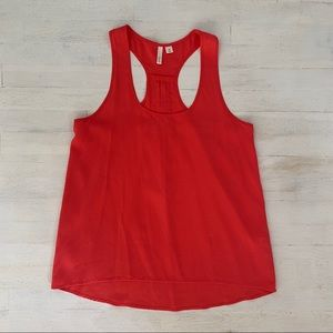 Frenchi Red Tank Top